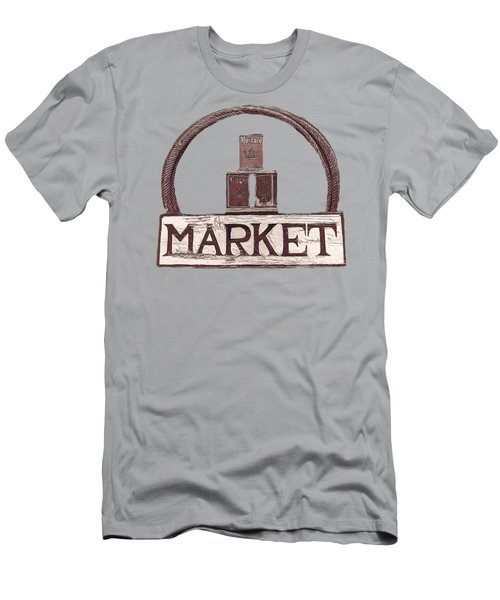 Going To The Market Men's T-Shirt (Athletic Fit)