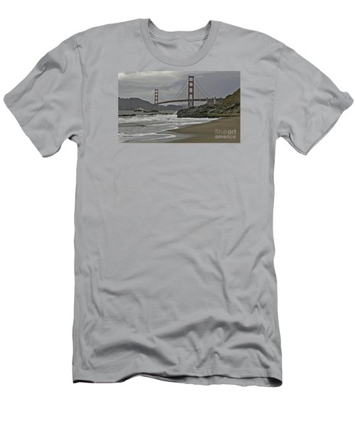 Golden Gate Study #1 Men's T-Shirt (Athletic Fit)