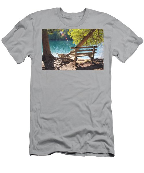 Green Lakes Men's T-Shirt (Athletic Fit)