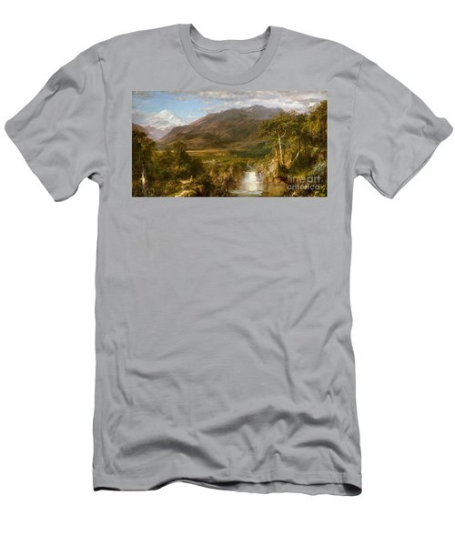Heart Of The Andes Men's T-Shirt (Athletic Fit)