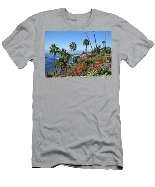 Heisler Park, Laguna Beach Men's T-Shirt (Athletic Fit)