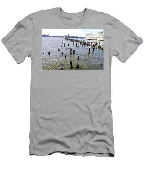 High Line Print 9 Men's T-Shirt (Slim Fit) by Terry Wallace