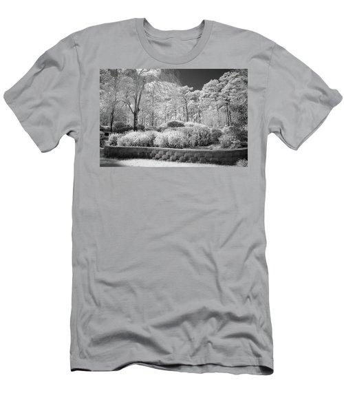 White Forrest Men's T-Shirt (Slim Fit) by Denis Lemay