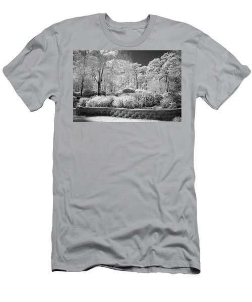 White Forrest Men's T-Shirt (Athletic Fit)