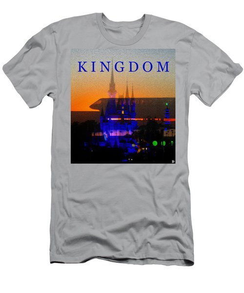 Men's T-Shirt (Slim Fit) featuring the digital art Kingdom by David Lee Thompson