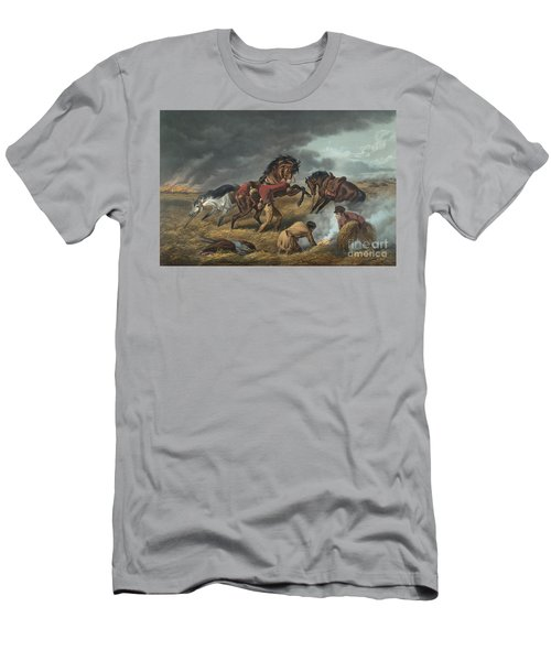 Life On The Prairie Men's T-Shirt (Athletic Fit)