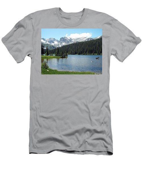Long Lake Splender  Men's T-Shirt (Athletic Fit)