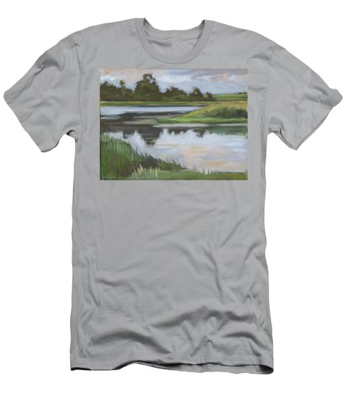 Marsh, June Afternoon Men's T-Shirt (Athletic Fit)