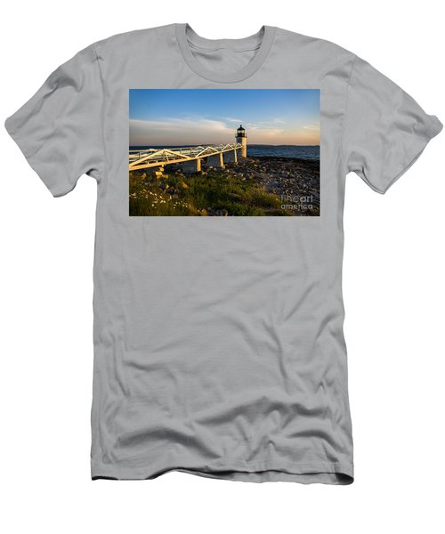 Marshall Point Lighthouse Men's T-Shirt (Athletic Fit)