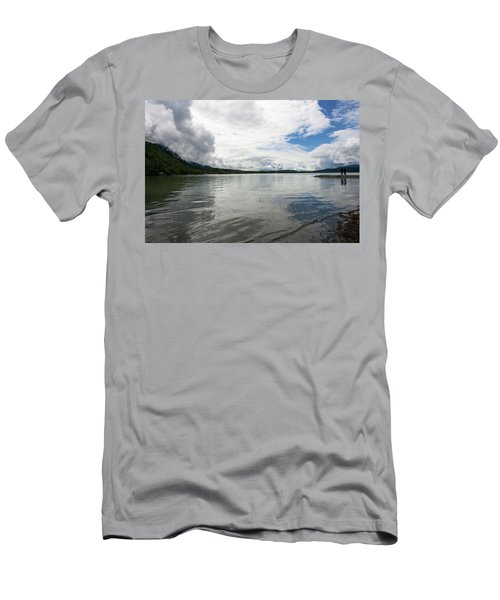 Mendenhall Lake Men's T-Shirt (Athletic Fit)
