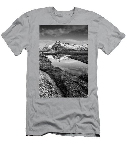 Mirror Men's T-Shirt (Slim Fit) by Alex Conu
