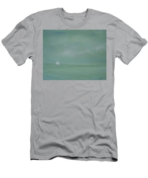 Misty Sail Men's T-Shirt (Athletic Fit)