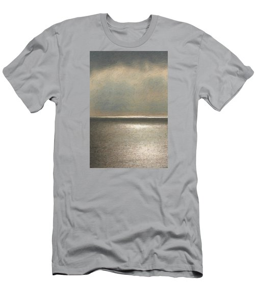 Not Quite Rothko - Twilight Silver Men's T-Shirt (Slim Fit) by Serge Averbukh