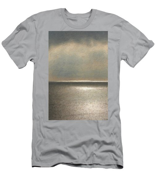 Not Quite Rothko - Twilight Silver Men's T-Shirt (Athletic Fit)