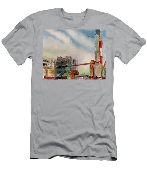 Paia Mill 2 Men's T-Shirt (Slim Fit) by Eric Samuelson