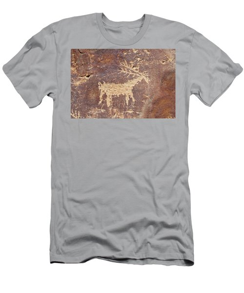 Petroglyph - Fremont Indian Men's T-Shirt (Slim Fit) by Breck Bartholomew