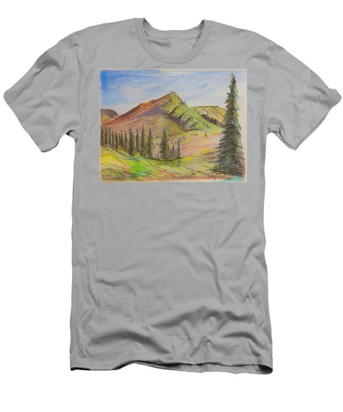 Pines On The Hills Men's T-Shirt (Athletic Fit)