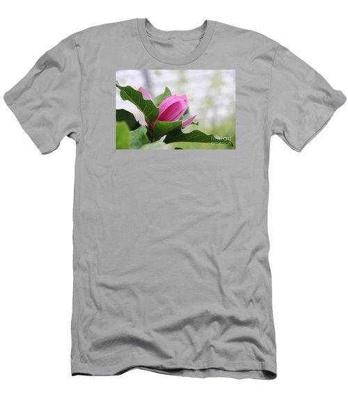 Pink Magnolia  Men's T-Shirt (Slim Fit) by Yumi Johnson