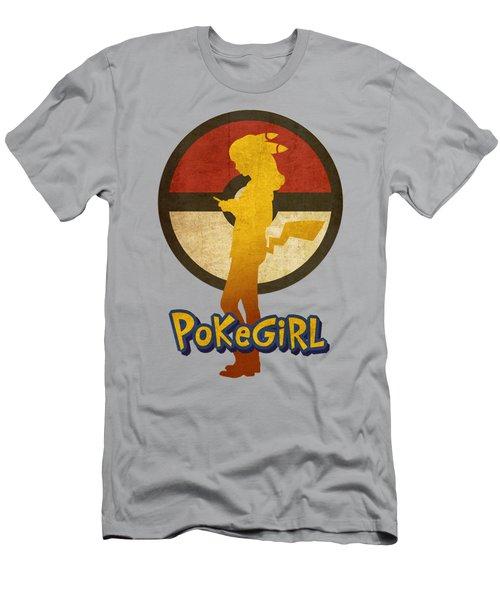 Pokegirl 3 Men's T-Shirt (Athletic Fit)