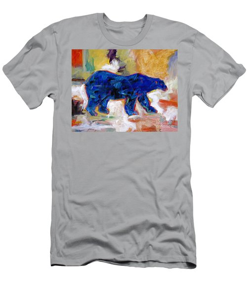 Polar Bear Men's T-Shirt (Athletic Fit)
