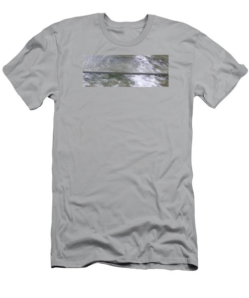 Men's T-Shirt (Slim Fit) featuring the photograph Pond  by Nora Boghossian
