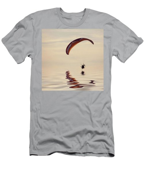 Powered Paraglider Men's T-Shirt (Athletic Fit)