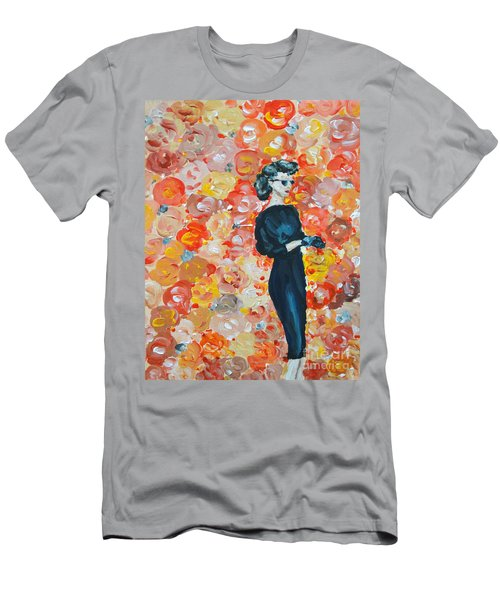 Men's T-Shirt (Athletic Fit) featuring the painting Ready To Love by Maria Langgle