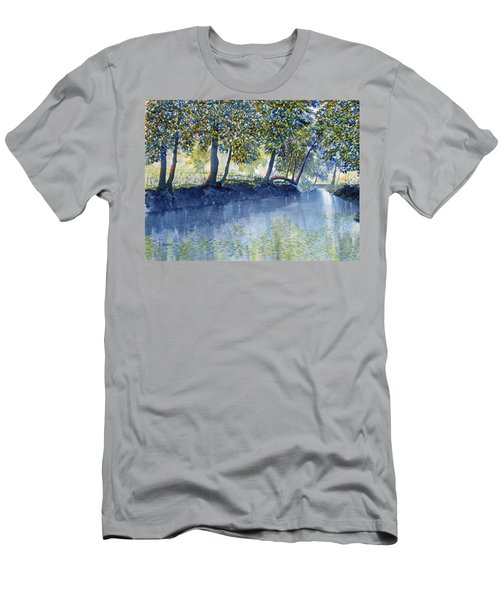 Ripples And Reflections Men's T-Shirt (Athletic Fit)