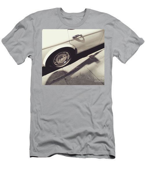 Men's T-Shirt (Slim Fit) featuring the photograph Rolls Royce Baby by Rebecca Harman