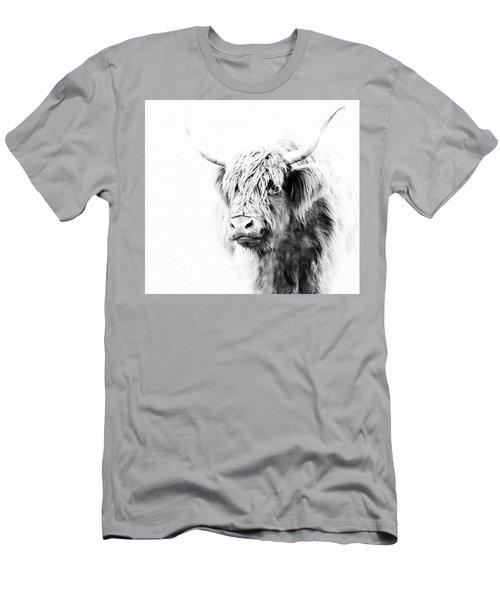 Scottish Highland Cow Men's T-Shirt (Athletic Fit)