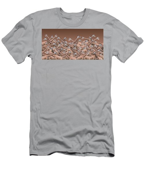Sea Of Giraffes Men's T-Shirt (Athletic Fit)