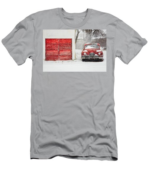Snowed In Men's T-Shirt (Athletic Fit)