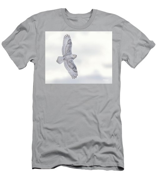 Snowy Flyby Men's T-Shirt (Athletic Fit)