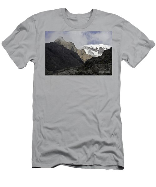 Somewhere In New Zealand Men's T-Shirt (Athletic Fit)