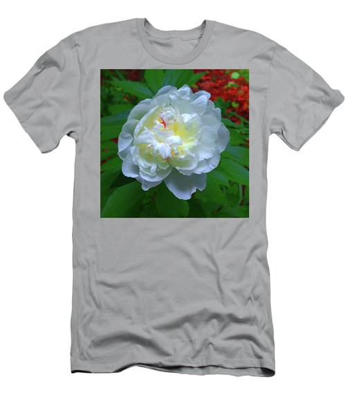 Spring Peony Men's T-Shirt (Athletic Fit)