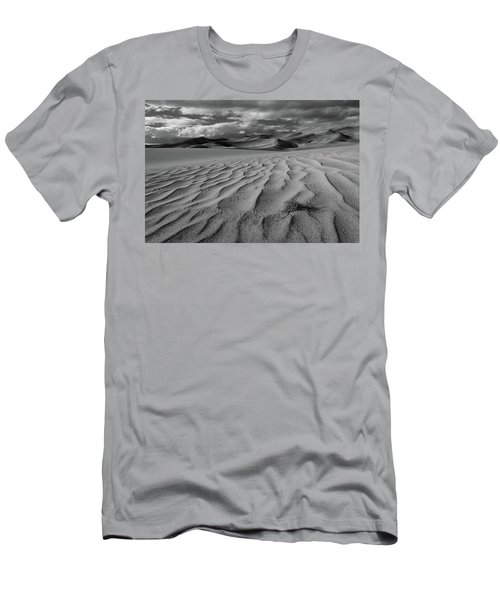 Storm Over Sand Dunes Men's T-Shirt (Athletic Fit)