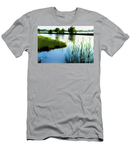 Men's T-Shirt (Slim Fit) featuring the mixed media Summer Dreams by Betty LaRue