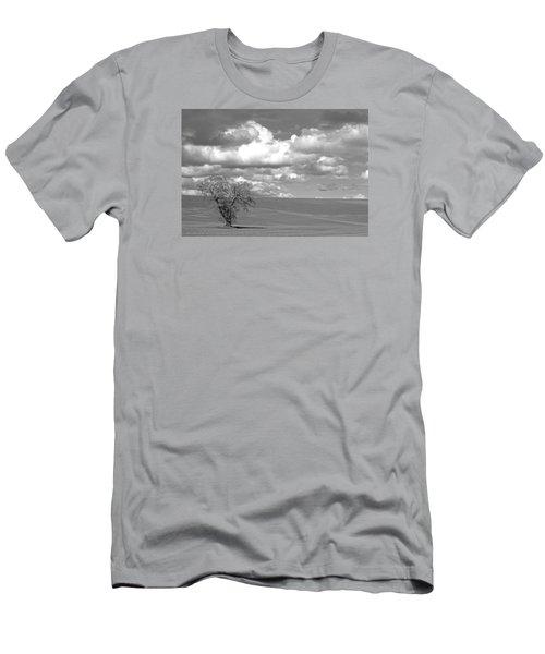 Summer Flack Tree Men's T-Shirt (Athletic Fit)