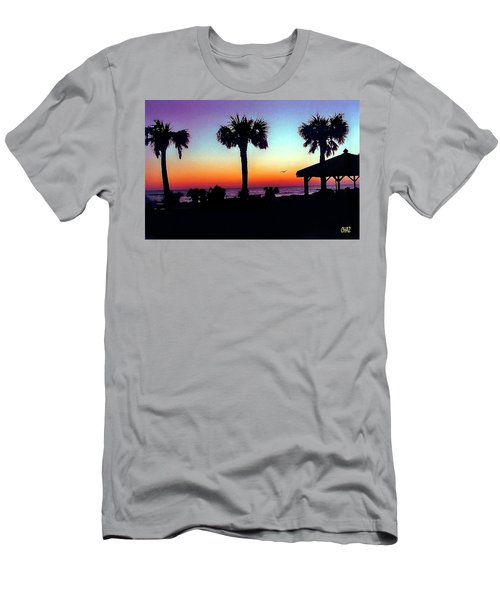Sunrise On Ormond Beach Men's T-Shirt (Athletic Fit)
