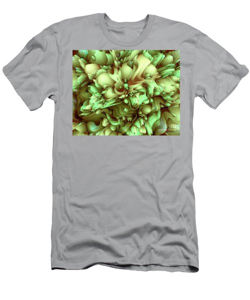 Sweet Flowers Men's T-Shirt (Slim Fit) by Moustafa Al Hatter