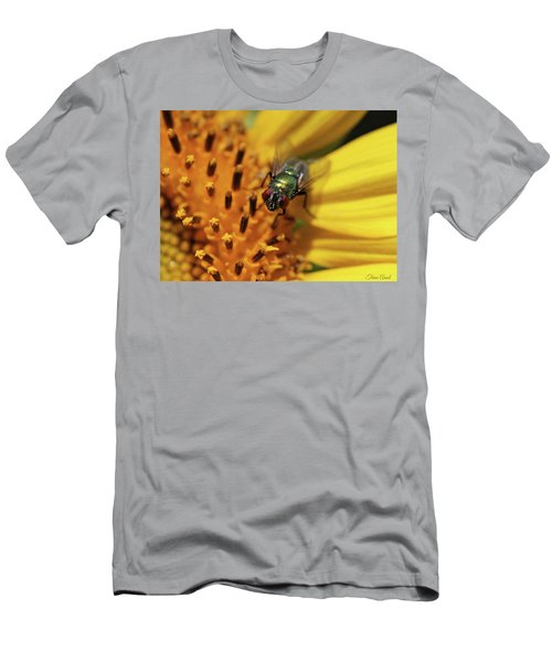 Men's T-Shirt (Athletic Fit) featuring the photograph The Fly by Trina Ansel