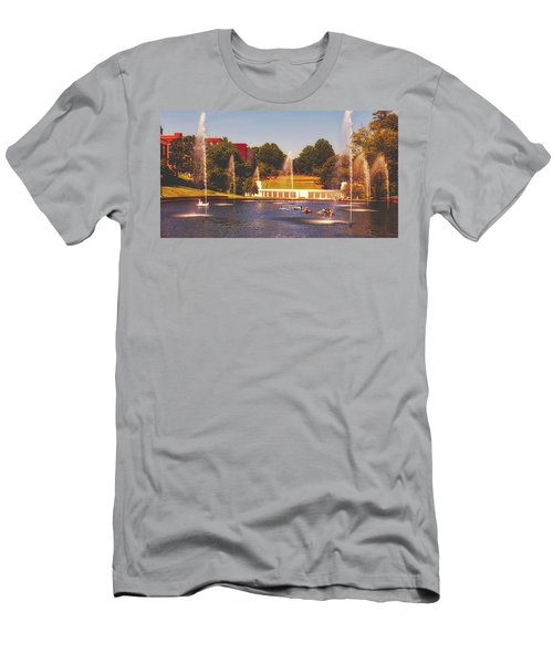 The Reflection Pond - Clemson University Men's T-Shirt (Athletic Fit)