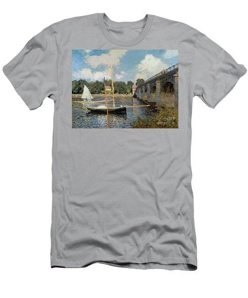 The Seine At Argenteuil Men's T-Shirt (Athletic Fit)