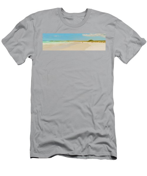 Tortuga Bay Beach At Santa Cruz Island In Galapagos  Men's T-Shirt (Athletic Fit)