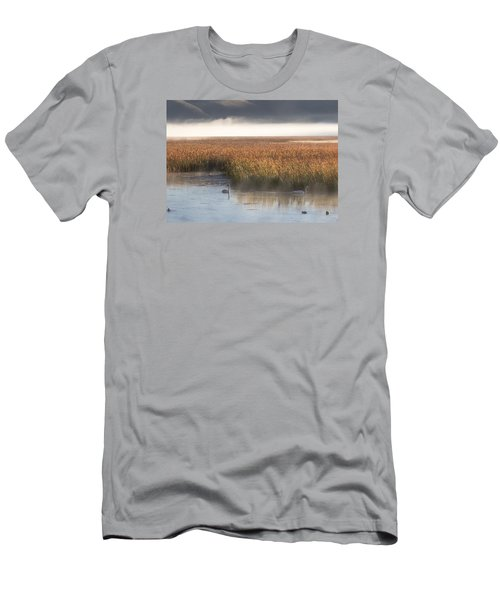 Tranquility Men's T-Shirt (Slim Fit) by Elizabeth Eldridge