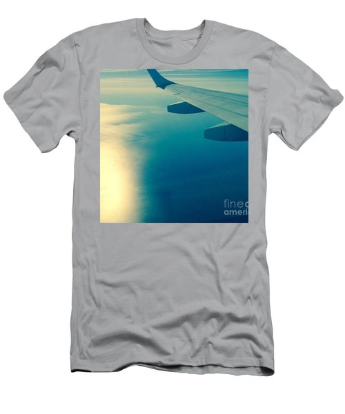 Men's T-Shirt (Slim Fit) featuring the photograph Trip To by France Laliberte