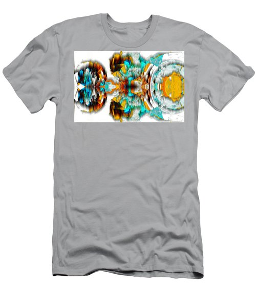 Men's T-Shirt (Athletic Fit) featuring the digital art Untitled Series 992.042212 -c by Kris Haas