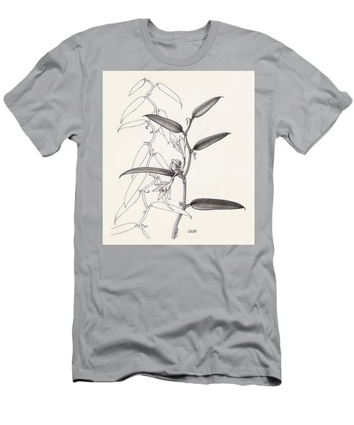 Men's T-Shirt (Athletic Fit) featuring the drawing Vanilla by Judith Kunzle