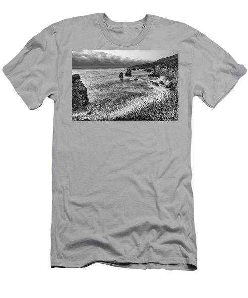 View Of The Rocky Coast From Soberanes Point In Garrapata State  Men's T-Shirt (Athletic Fit)