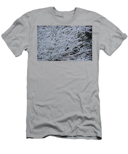Winter At Dusk Men's T-Shirt (Slim Fit) by Pamela Walrath